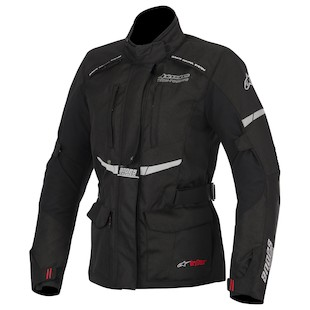 Alpinestars Stella Andes Drystar Jacket (Color: Black / Size: SM) 947612