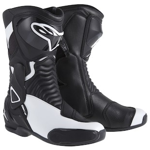Alpinestars Stella SMX 6 Boots - (Sz 41 Only) (Color: Black/White / Size: 41) 947073