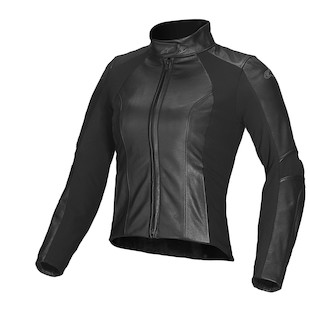 Alpinestars Vika Women's Leather Jacket (Color: Black / Size: 46) 947491
