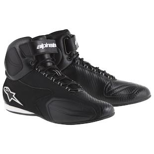 Alpinestars Faster Vented Shoes (Color: Black / Size: 12) 947181