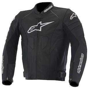Alpinestars GP Plus R Perforated Leather Jacket (Color: Black/White / Size: 56) 947389