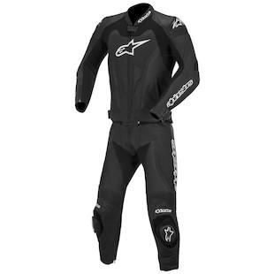Alpinestars GP Pro 2-Piece Race Suit (Color: Black / Size: 48) 916204