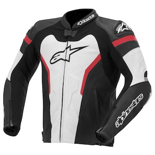 Alpinestars GP Pro Leather Jacket (Color: Black/White/Red / Size: 58) 914487