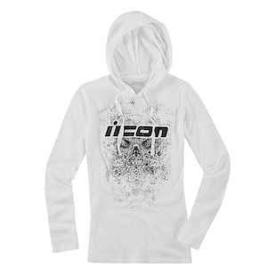 Icon Chantilly Women's Hoody (Color: White / Size: 2XL) 946426