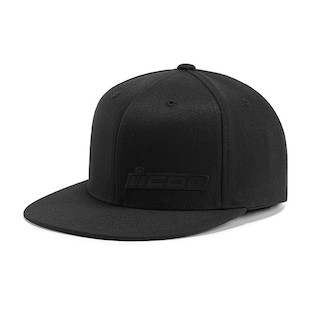 Icon Fused Hat (Color: Black / Size: LG-XL) 946435