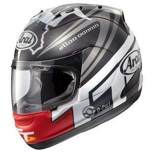 Arai Corsair V IOM TT 2014 LE Helmet (Color: Black/Grey/Red / Size: XL) 948992