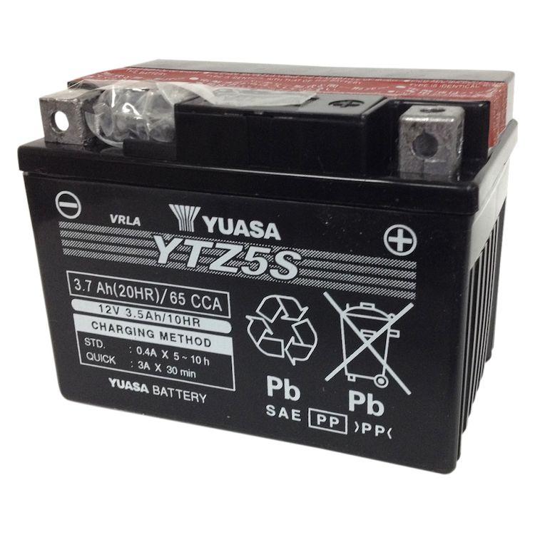 Yuasa YTZ5S-BS High Performance AGM Battery
