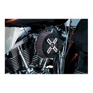 Kuryakyn Street Sleeper 2 Air Cleaner For Harley Touring 2008-2013 (Type: Uncovered) 950267