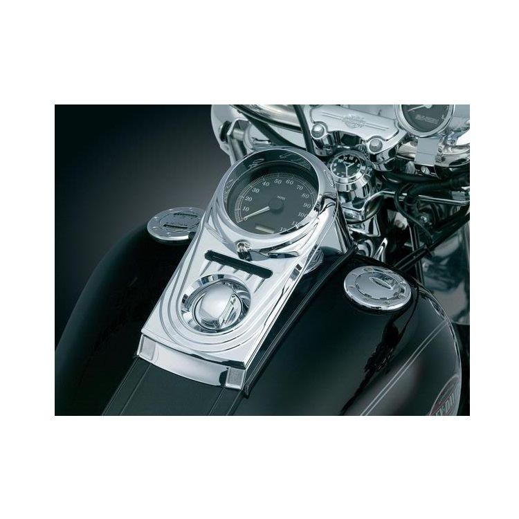 Kuryakyn Dash Panel Cover For Harley Softail / Wide Glide 1993-2017