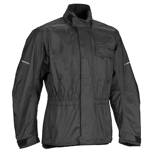 Firstgear Splash Rain Jacket (Color: Black / Size: 2XL) 709980