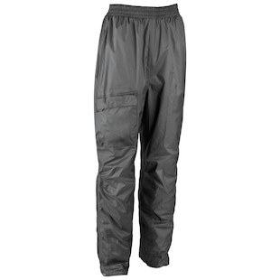 Firstgear Splash Rain Pants (Color: Black / Size: SM) 709983