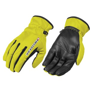 Firstgear Ultra Mesh Women's Gloves (Color: Neon Yellow / Size: WLG) 950767