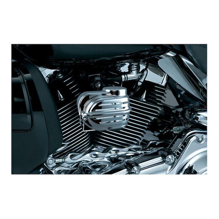 Kuryakyn Wolo Deluxe Bad Boy Air Horn Kit For Harley 1992-2016
