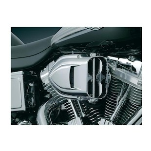 Kuryakyn Pro-R Hypercharger Air Cleaner For Harley Twin Cam 1999-2017 (Finish: Chrome) 950280