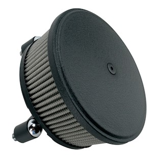Arlen Ness Stage 2 Big Sucker Air Cleaner Kit For Harley 2008-2017 (Material: Stainless Jacketed Air Filter / Type: Textured Black Steel Cover) 877939