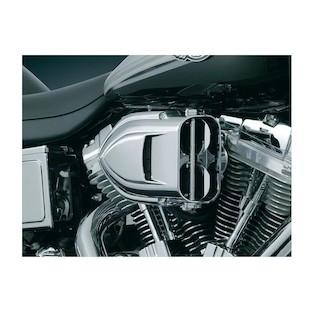 Kuryakyn Pro-R Hypercharger Air Cleaner For Harley Sportster 2007-2018 (Finish: Chrome) 950284