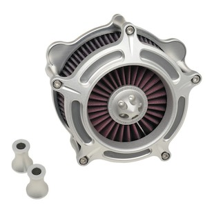 Roland Sands Turbine Air Cleaner For Harley Big Twin 1993-2017 (Finish: Machine Ops) 952460