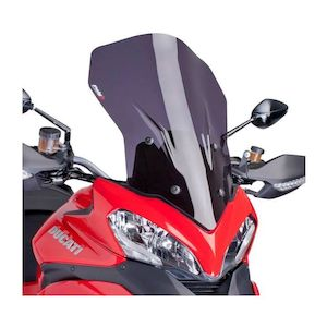5250H Puig Touring Windscreen 2010-2012 Ducati Multistrada 1200 S