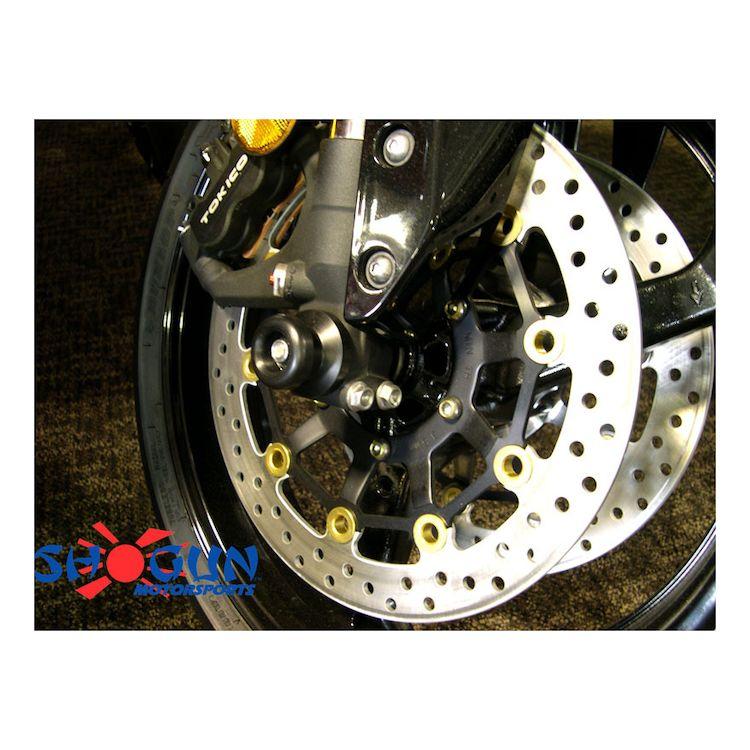 Shogun Front Axle Sliders Honda CBR600RR 2013-2015