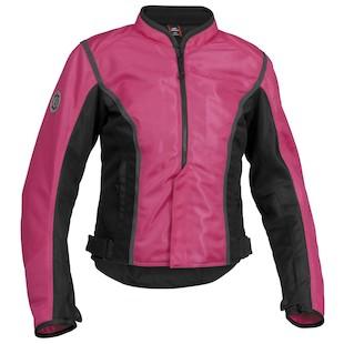 Firstgear Contour Women's Mesh Jacket (Color: Pink/Black / Size: W2XL) 953040