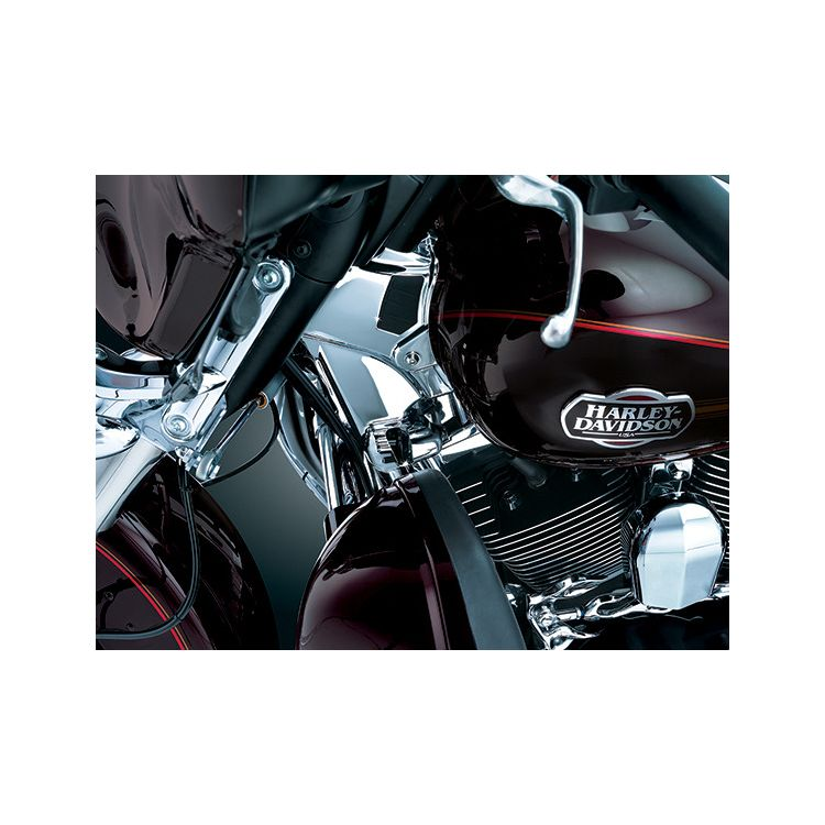 Kuryakyn Neck Cover Kit For Harley Touring 2009-2013