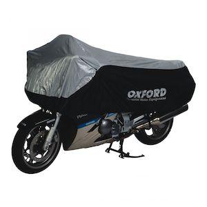 Oxford Black//Gray Dormex Indoor Motorcycle Cover CV401