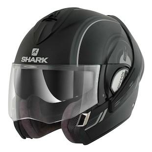 Shark Evoline 3 ST MoovUp Helmet (Size SM Only) (Color: Matte Black / Size: SM) 954633