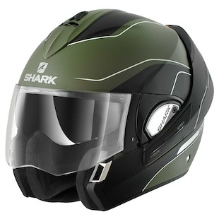 Shark Evoline 3 ST Arona Helmet (Color: Black/Green / Size: XL) 954651