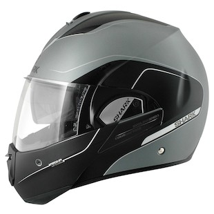 Shark Evoline 3 ST Arona Helmet [Size MD Only] (Color: Silver/Black / Size: MD) 954659