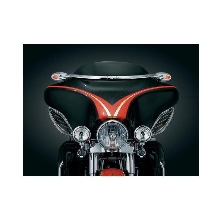 Kuryakyn Windshield Mirror Mount For Harley Touring 1996-2013