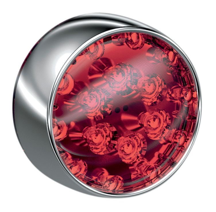 Kuryakyn 5457 Rear Turn Signal LED Light with Red Lens