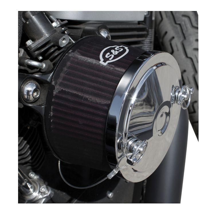 """S&S Pre-Filter / Rain Sock For Optional 1"""" Stealth Air Filter"""