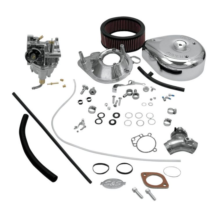 S&S Cycle Super E Carburetor Kit For Harley Twin Cam 1999-2005