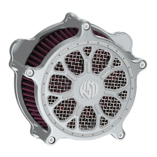 Roland Sands Venturi Delmar Air Cleaner For Harley 2008-2017 (Finish: Machine Ops) 959950