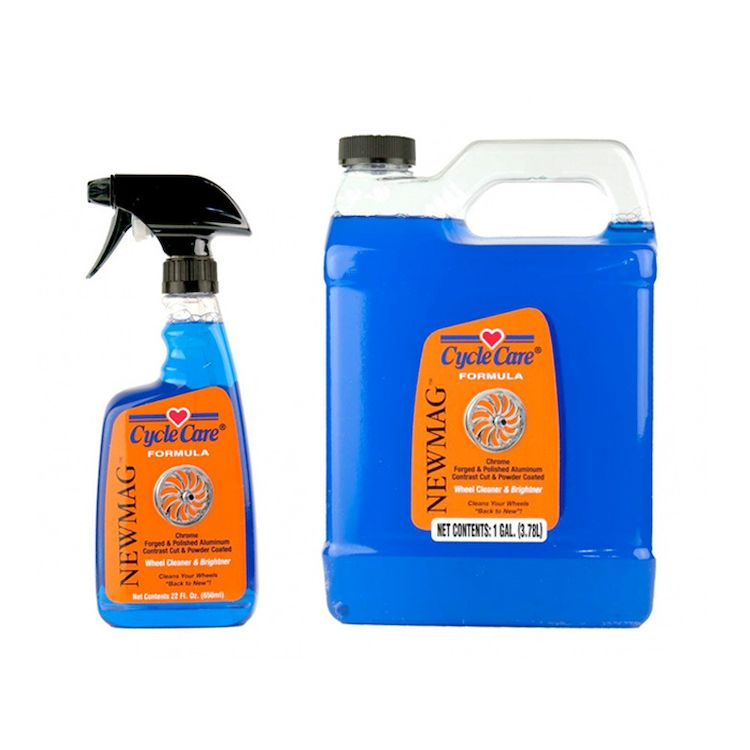 Cycle Care Formula NewMag Wheel Cleaner And Brightner