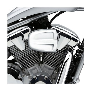 Cobra PowrFlo Air Filter Intake For Yamaha Star Bolt 2014 (Finish: Chrome) 963229