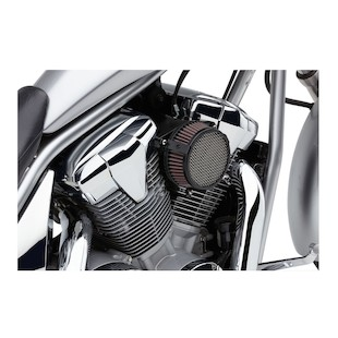 Cobra Air Filter Intake For Yamaha Bolt / Scrambler 2014-2017 (Type: Plain / Finish: Chrome) 963235