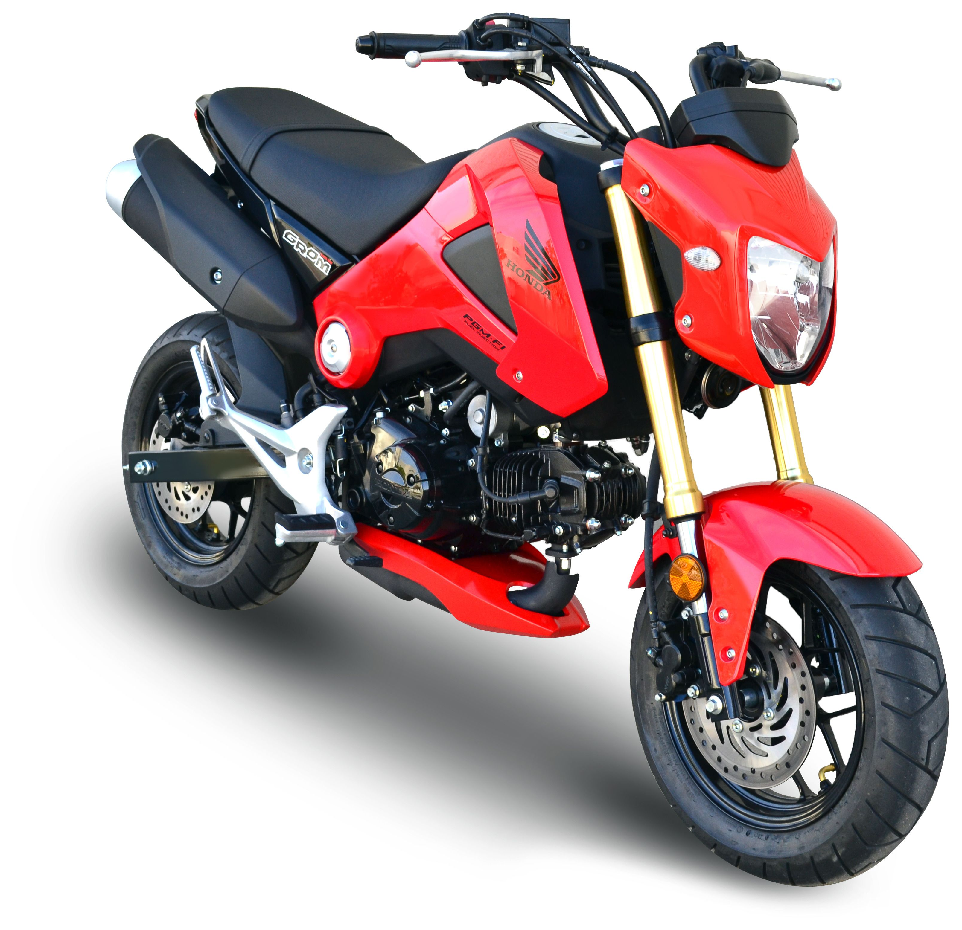 Hotbodies Custom Lower Fairing Honda Grom 2014 2020 Cycle Gear