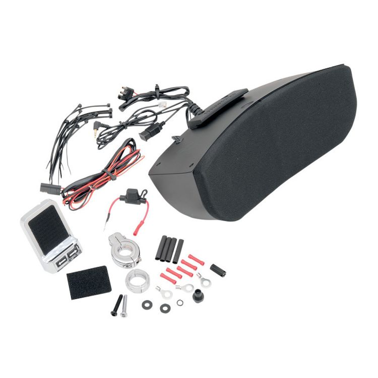 Hogtunes Speaker System For Memphis Shades Batwing Fairings