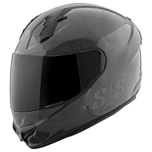 Speed and Strength SS1400 Twist Of Fate Helmet (Color: Black/Black / Size: SM) 967116