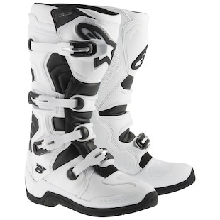 Alpinestars Tech 5 Boots (Color: White/Black / Size: 8) 970571