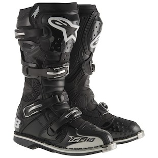 Alpinestars Tech 8 RS Boots (Color: Black / Size: 5) 970592