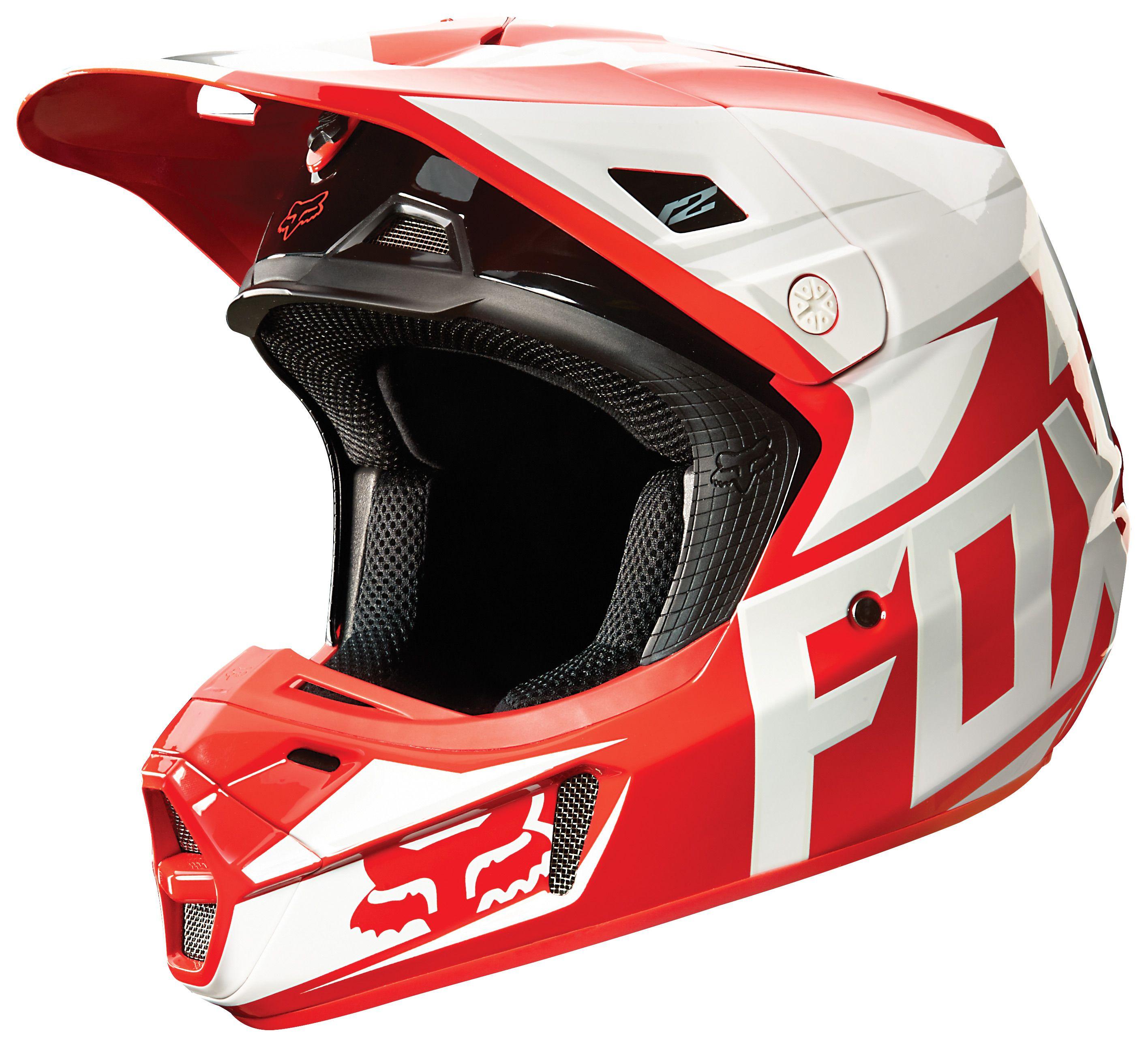 Fox Racing V2 Race Helmet Cycle Gear