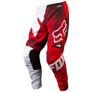 Fox Racing 180 Vandal Pants (Color: Red / Size: 34) 972007