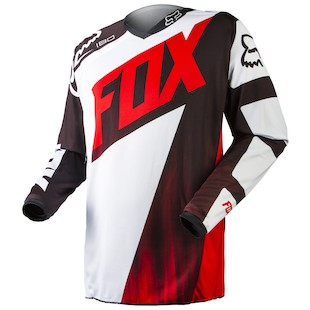 Fox Racing Youth 180 Vandal Jersey (Color: Red / Size: LG) 972672