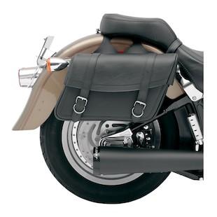 Saddlemen Highwayman Slant Saddlebags (Color: Black / Type: Medium Classic) 622852