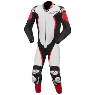 Alpinestars GP Tech Race Suit (Color: White/Black/Red / Size: 56) 973813