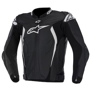 Alpinestars GP Tech Leather Jacket (Color: Black/White / Size: 54) 973184
