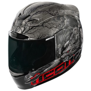 Icon Airmada Thriller Helmet (Color: Black / Size: MD) 974067