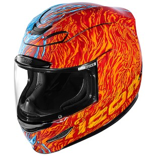 Icon Airmada Elemental Helmet (Color: Red/Blue / Size: LG) 974089